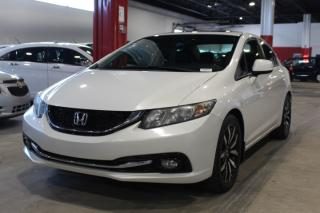 Used 2013 Honda Civic TOURING 4D Sedan at for sale in Lachine, QC