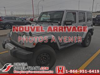 Used 2013 Jeep Wrangler Modèle Sahara 4 portes traction intégral for sale in Sorel-Tracy, QC