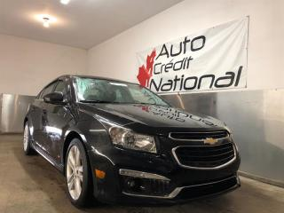 Used 2015 Chevrolet Cruze RS CUIR MAGS 18''  TOIT A/C CAM DE RECUL for sale in St-Eustache, QC