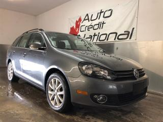 Used 2014 Volkswagen Golf Wagon TDI DSG CONFORTLINE for sale in St-Eustache, QC