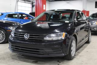 Used 2015 Volkswagen Jetta TRENDLINE + 4D Sedan 2.0 for sale in Lachine, QC