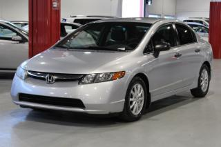 Used 2007 Honda Civic DX-G 4D Sedan for sale in Lachine, QC