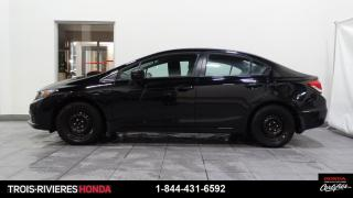 Used 2015 Honda Civic LX + SIEGES CHAUFFANTS + BLUETOOTH ! for sale in Trois-Rivières, QC