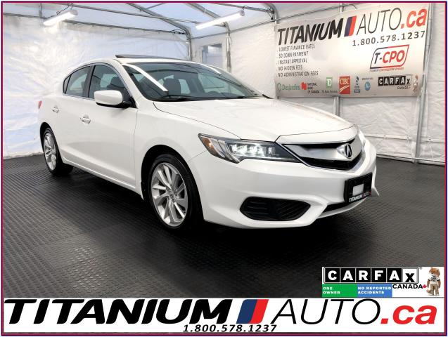 2016 Acura ILX PREMIUM+Camera+Blind Spot+Lane Assist+Leather+XM+