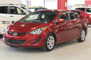 Used 2014 Hyundai Elantra GL 4D Sedan at for sale in Lachine, QC