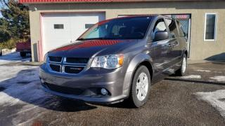 Used 2015 Dodge Grand Caravan CREW, STOW N GO, MAGS, FULL for sale in Mirabel, QC