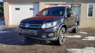 Used 2017 Volkswagen Tiguan 4MOTION - HIGHLINE for sale in Mirabel, QC
