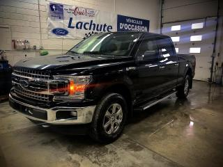 Used 2018 Ford F-150 XLT cabine double 4RM caisse de 6,5 pi for sale in Lachute, QC