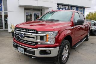 Used 2018 Ford F-150 XLT SUPERCREW  XTR, V6 3.5L ECOBOOST for sale in Lachute, QC