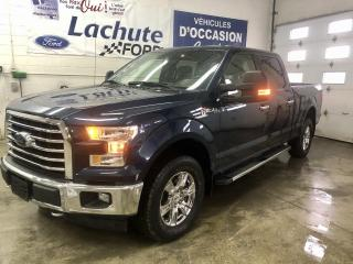 Used 2017 Ford F-150 Cab SuperCrew 4RM 145 po XLT for sale in Lachute, QC