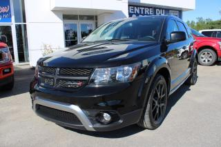 Used 2017 Dodge Journey CROSSROAD AWD. CUIR. TOIT. DVD. NAVIGATI for sale in Lachute, QC