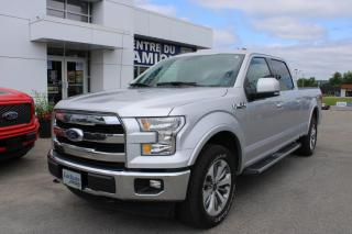 Used 2017 Ford F-150 Lariat FX4 SuperCrew for sale in Lachute, QC