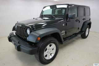 Used 2014 Jeep Wrangler Unlimited Sport *PLAN OR 6ANS/120 000KM* for sale in Ste-Foy, QC