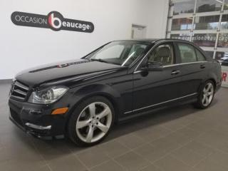 Used 2014 Mercedes-Benz C-Class C350 for sale in Sherbrooke, QC