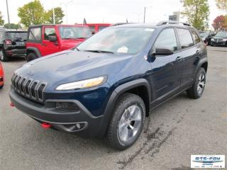 Used 2018 Jeep Cherokee Trailhawk for sale in Ste-Foy, QC