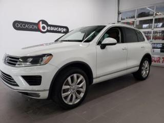 Used 2015 Volkswagen Touareg HIGHLINE for sale in Sherbrooke, QC