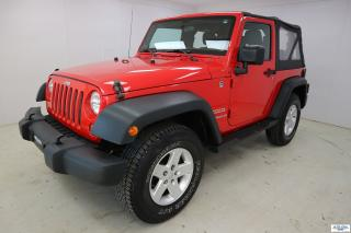 Used 2012 Jeep Wrangler Sport *4X4 AWD* for sale in Ste-Foy, QC