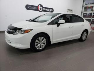 Used 2012 Honda Civic LX for sale in Sherbrooke, QC
