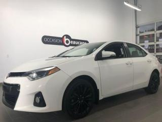 Used 2015 Toyota Corolla S for sale in Sherbrooke, QC