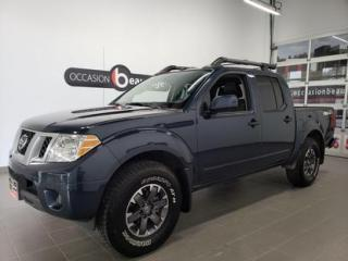 Used 2019 Nissan Frontier Pro-4X for sale in Sherbrooke, QC
