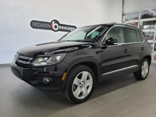 Used 2016 Volkswagen Tiguan Highline for sale in Sherbrooke, QC