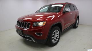 Used 2015 Jeep Grand Cherokee Limited *4X4 AWD PLAN OR 5ANS/100 000KM* for sale in Ste-Foy, QC