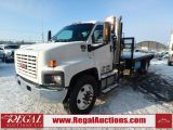 Photo of White 2006 GMC 7500  FLAT DECK PICKER 2WD DRW