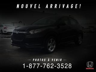 Used 2016 Honda HR-V LX 4 portes 4RM CVT for sale in St-Basile-le-Grand, QC