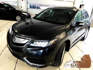 Used 2016 Acura RDX AWD ELITE TECH PKG, NAVIGATION, REVERSE CAMERA for sale in Montréal, QC