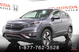 Used 2016 Honda CR-V TOURING + GARANTIE +AWD + NAVIGATION + T for sale in St-Basile-le-Grand, QC