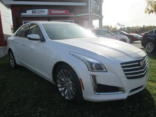 Used 2019 Cadillac CTS Traction intégrale luxury for sale in Rivière-Du-Loup, QC