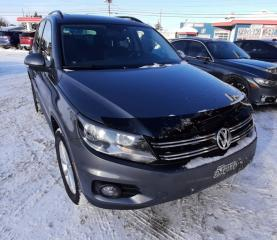 Used 2014 Volkswagen Tiguan COMFORTLINE AWD for sale in Rivière-Du-Loup, QC