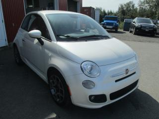 Used 2013 Fiat 500 Sport for sale in Rivière-Du-Loup, QC