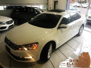 Used 2014 Volkswagen Passat HIGHLINE- NAV, REVERSE CAM, PUSH START, MOONROOF for sale in Montréal, QC