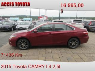 Used 2015 Toyota Camry XSE for sale in Rouyn-Noranda, QC
