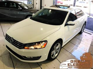 Used 2013 Volkswagen Passat HIGHLINE- NAV, REVERSE CAM, PUSH START, MOONROOF for sale in Montréal, QC