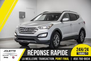Used 2016 Hyundai Santa Fe Sport LIMITED, AWD, BLUETOOTH, BAS KILO!! for sale in Joliette, QC