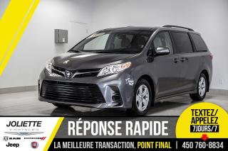 Used 2019 Toyota Sienna LE, 8 PASSAGERS, BLUETOOTH, CAMÉRA DE RECUL!! for sale in Joliette, QC