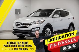 Used 2016 Hyundai Santa Fe Sport 2.0T SPORT, CUIR, TOIT, GPS!! for sale in Joliette, QC