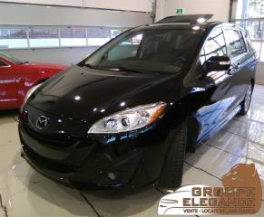Used 2015 Mazda MAZDA5 GT Wgn, 7 PASSENGERS, LEATHER SEATS, SUNROOF for sale in Montréal, QC