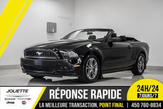 Used 2014 Ford Mustang Premium, CONVERTIBLE, BLUETOOTH, BAS KILO!! for sale in Joliette, QC