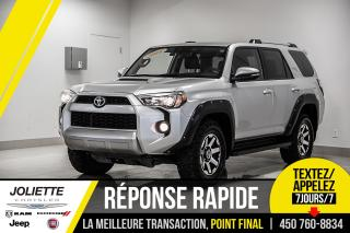 Used 2018 Toyota 4Runner TRD OFFROAD, CUIR, TOIT, NAVIGATION!! for sale in Joliette, QC