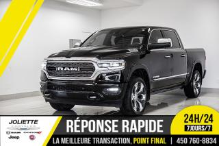Used 2019 RAM 1500 Limited, CUIR, NAVIGATION, DÉMARREUR À DISTANCE!! for sale in Joliette, QC