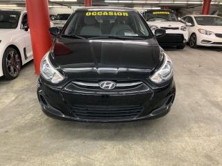 Used 2015 Hyundai Accent GL*GRP ÉLECTRIQUE*AC*BLUETOOTH for sale in Ste-Julie, QC