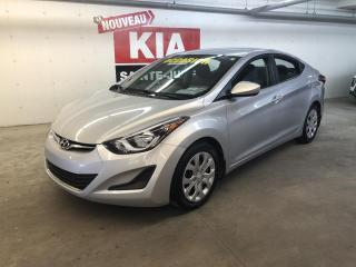 Used 2014 Hyundai Elantra GL*GRP ÉLECTRIQUE*A/C*BLUETOOTH for sale in Ste-Julie, QC