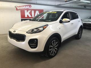 Used 2018 Kia Sportage EX AWD * CUIR * MAGS * CAMERA for sale in Ste-Julie, QC