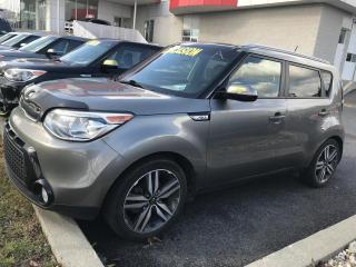 Used 2015 Kia Soul SX*TOIT PANO*CAMERA*AC*CUIR*SIÈGES REFRO for sale in Ste-Julie, QC