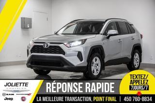 Used 2019 Toyota RAV4 LE, BLUETOOTH, CAMÉRA DE RECUL, AWD!! for sale in Joliette, QC