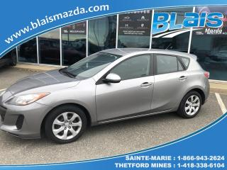 Used 2013 Mazda MAZDA3 GX SPORT for sale in Ste-Marie, QC