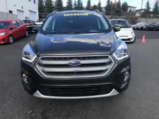 Used 2017 Ford Escape TITANIUM 2.0T*CAMERA*GPS*CUIR for sale in Ste-Julie, QC